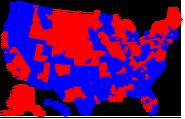 Map of Representatives 1979