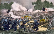 800px-Battle of Gettysburg, by Currier and Ives
