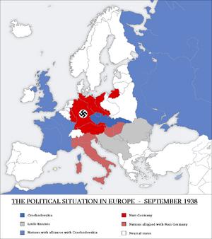 Europe September 1938