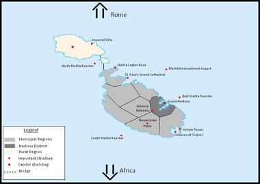 Map of Melita