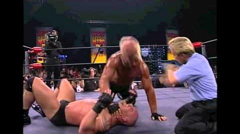 Goldberg vs Hollywood Hogan WCW Championship