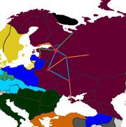 PMII1820 Russia railway map