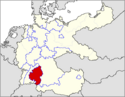 CV Map of Württemberg-Hohenzollern 1991-present