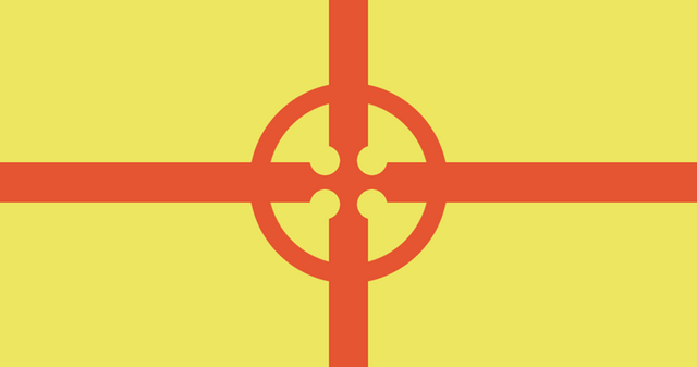 File:Cross flag yellow.png