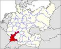 CV Map of Baden-Alsace