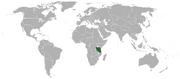 German East Africa (1945-1991)