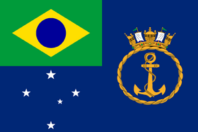Ensign of the Royal Navy of Brazil