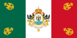 Flag of Mexican Empire