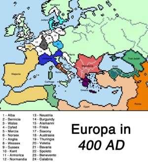 Europe GU 400