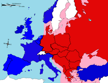 Iron Curtain as described by Churchill (1)