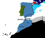 Labelled split of morocco
