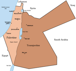 Palestine and Tranjordan