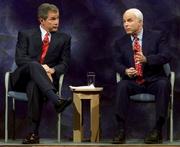 President McCain Bush Republican debate 2000