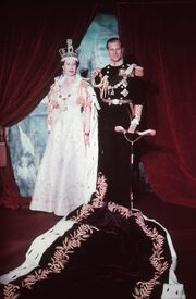 Elizabeth and Philip 1953
