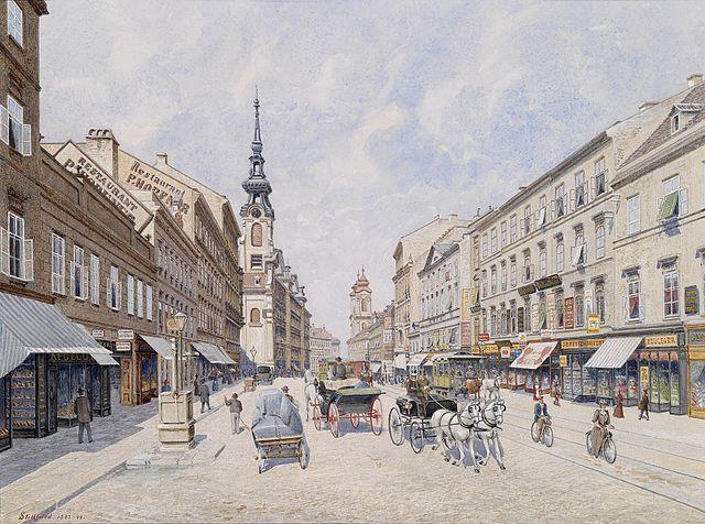 File:Raimund von Stillfried-Rathenitz Innere Mariahilferstraße 1890s.jpg