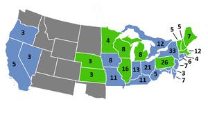 1868 Electoral Map