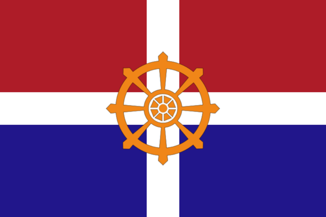 File:Flag of Dutch Saarland (Satomi Maiden ~ Third Power).png