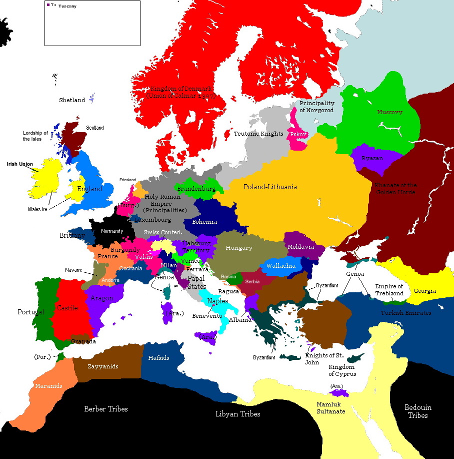 Second Europe Map Game 1