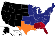 Us Map RedWorld