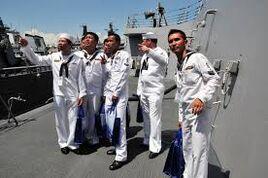 Naval sailors
