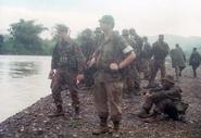 Bermuda Regiment - Lincoln and Welland NCO in Jamaica