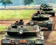 Czechoslovak Leopard 2A5CSFR tanks (MGS)