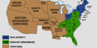 United States Presidential Election of 1860 (Divergence Factor -0.229)