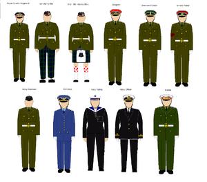 Scottish Class A Uniforms
