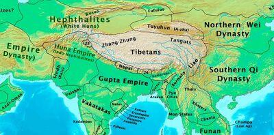 Eastern Hemisphere 500 CE