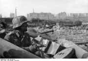 German soldier in stalingrad