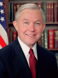 Jeff Sessions official portrait