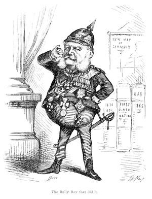 Caricature of Wilhelm I by Thomas Nast