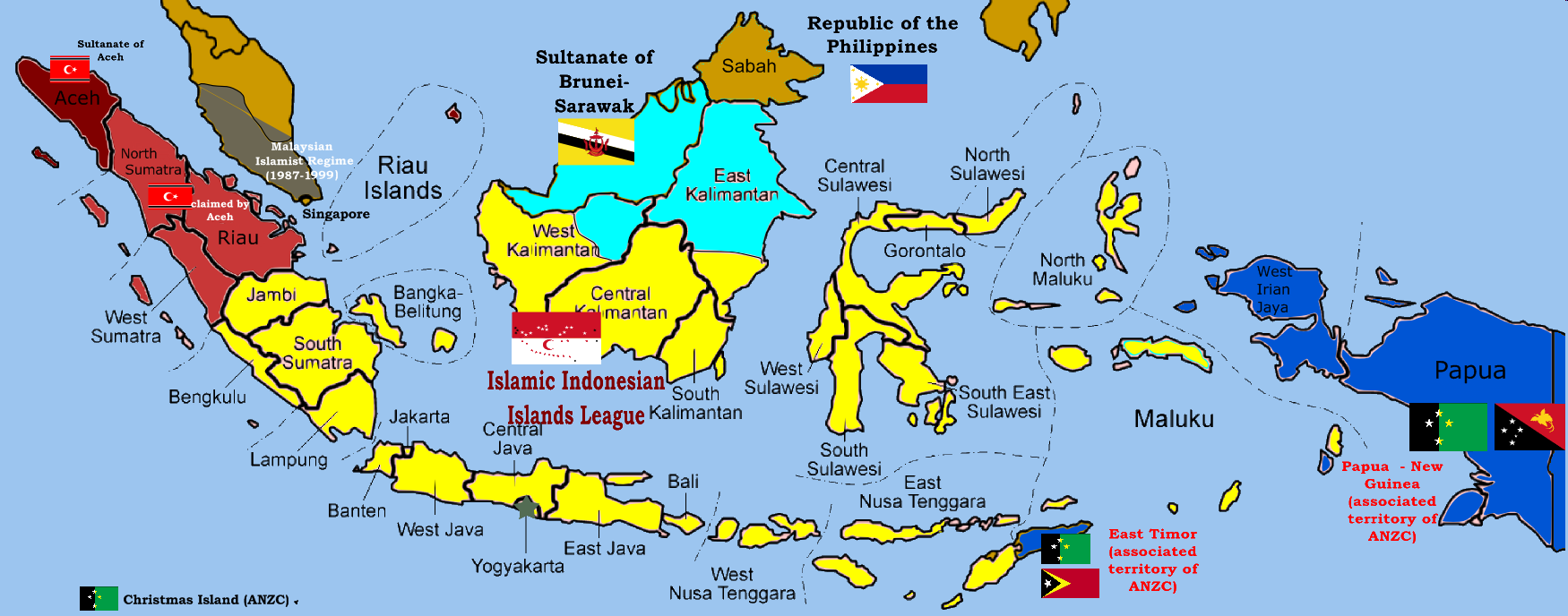 Poltical timeline in indonesia