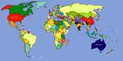 World Map (Ranjit Singh Lives)