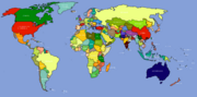 World Map (Ranjit Singh Lives)