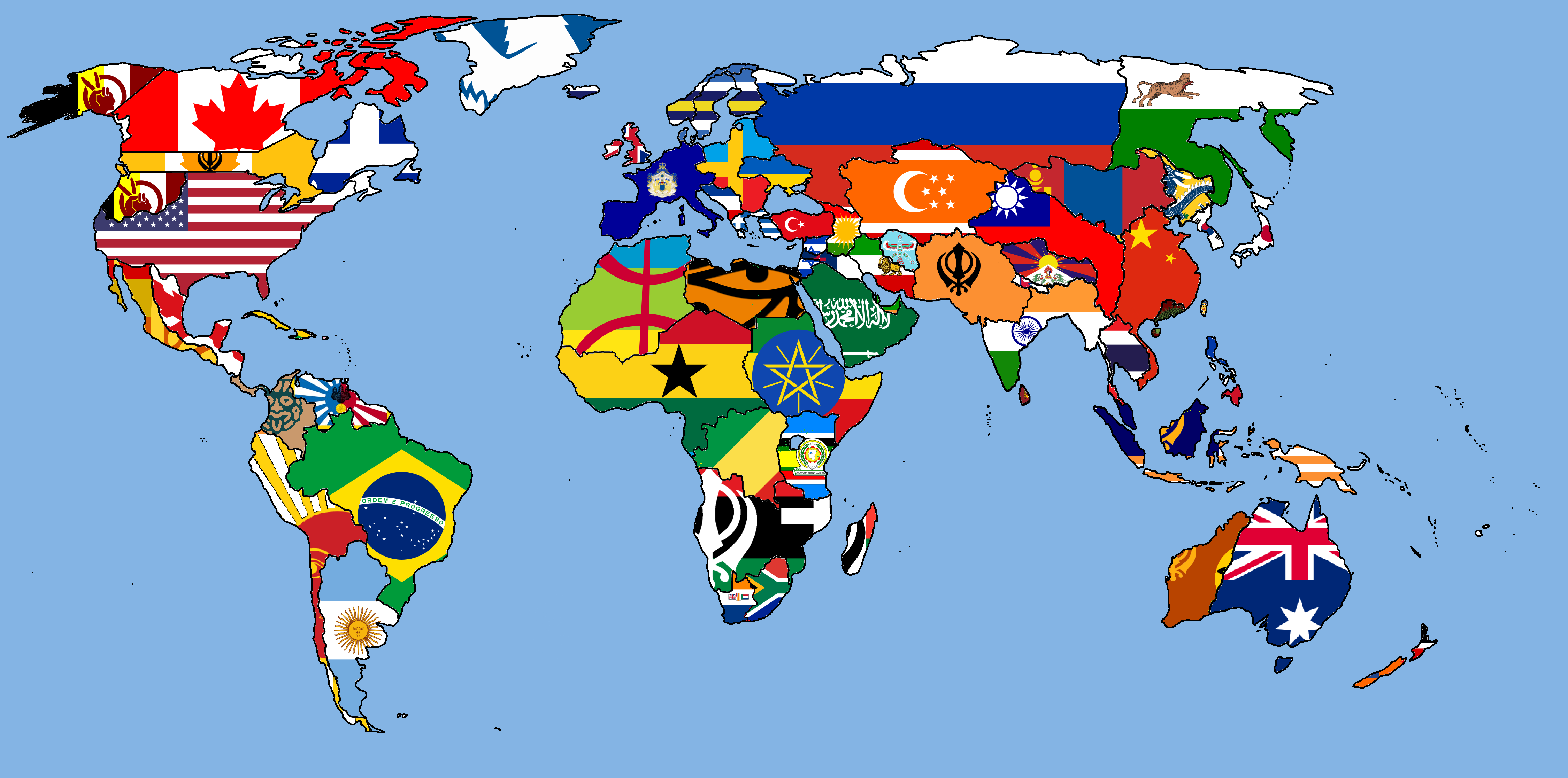 Atlas history of flags of the world map image gumiabroncs Images