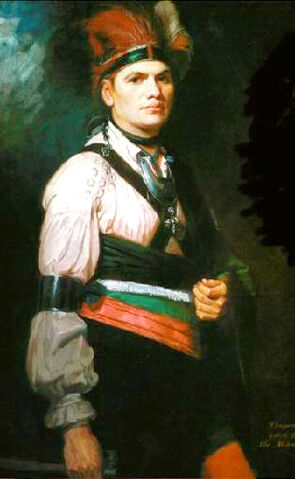 File:Joseph Brant painting by George Romney 1776.jpg