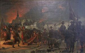 800px-Stormningen av Köpenhamn 11 feb. 1659