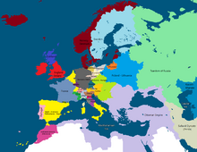 Europe, 1530