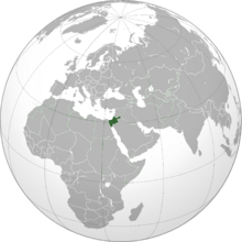 Israel (orthographic projection)