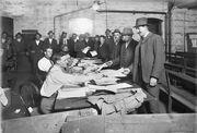Melbourne recruiting WWI