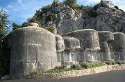 Maginot line turrets