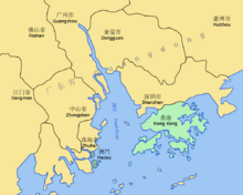 Pearl River Delta Area