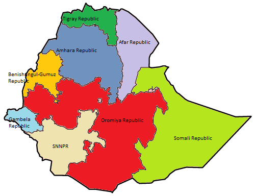 File:Ethiopia regions numbered.png
