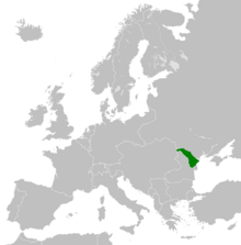 Location Moldavian Democratic Republic