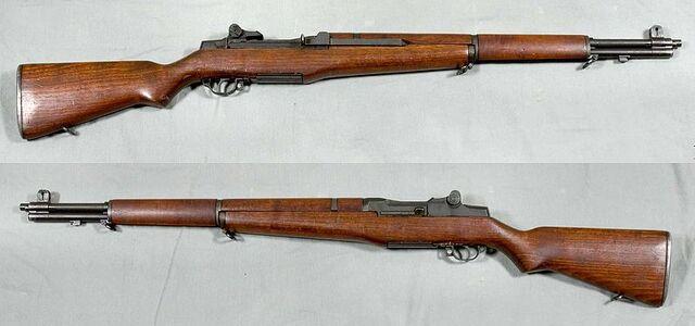 File:799px-M1 Garand rifle - USA - 30-06 - Armémuseum.jpg