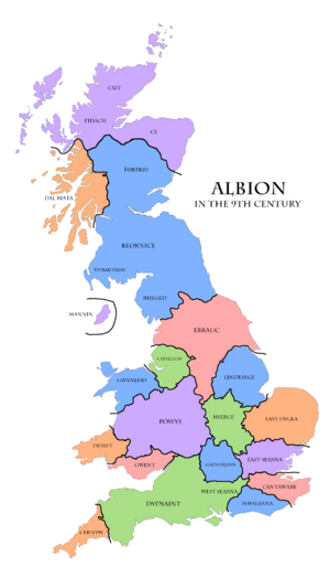 9th century Albion