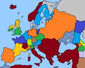Europe 1600 (Fidem Pacis)