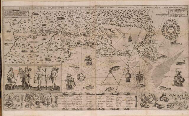File:Samuel de Champlain Carte geographique de la Nouvelle France.jpg