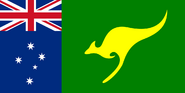 Australia flag by Hellerick